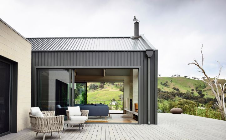 COLORBOND® steel roofing and cladding in Woodland Grey®