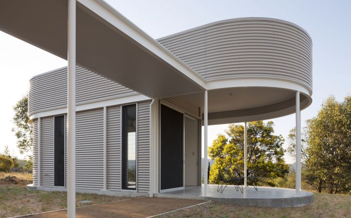 COLORBOND® steel Shale Grey™ cladding
