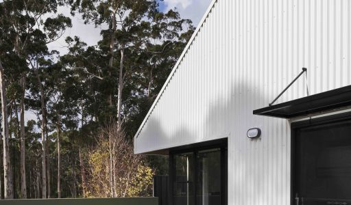 COLORBOND® steel Surfmist® cladding and roofing